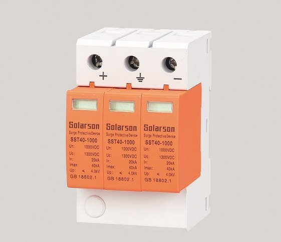 DC Surge protective device and DC Breaker supply protection for Solar system